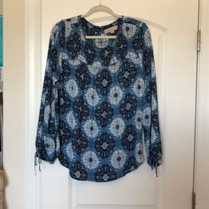 Loft Paisley blouse